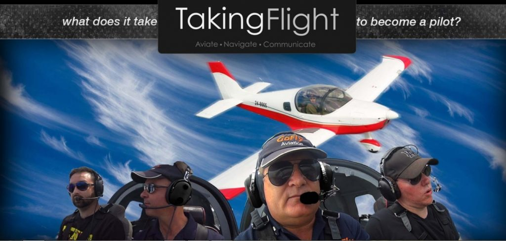 Taking Flight is a reality show set at GoFly Aviation in Caloundra