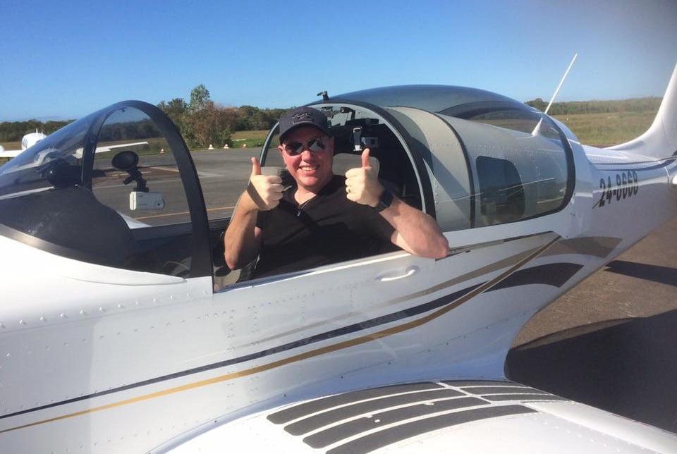 stephen successful flight test