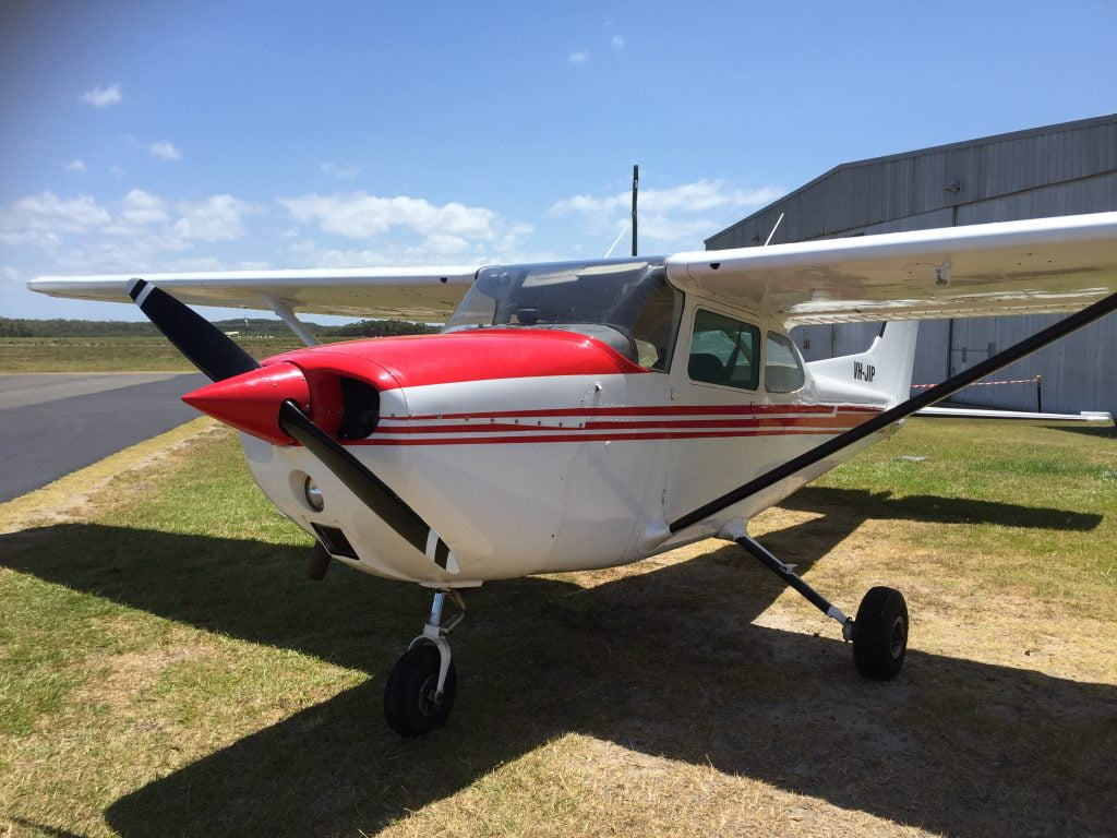 Cessna CPL training