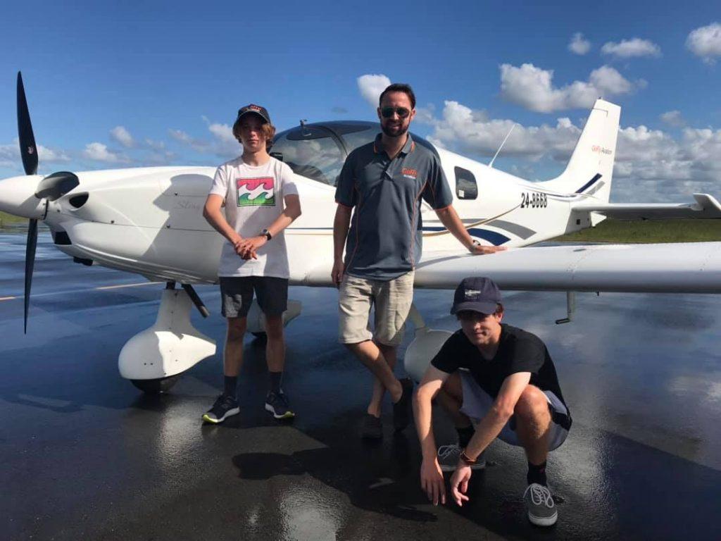 Charles and Will nav flight test