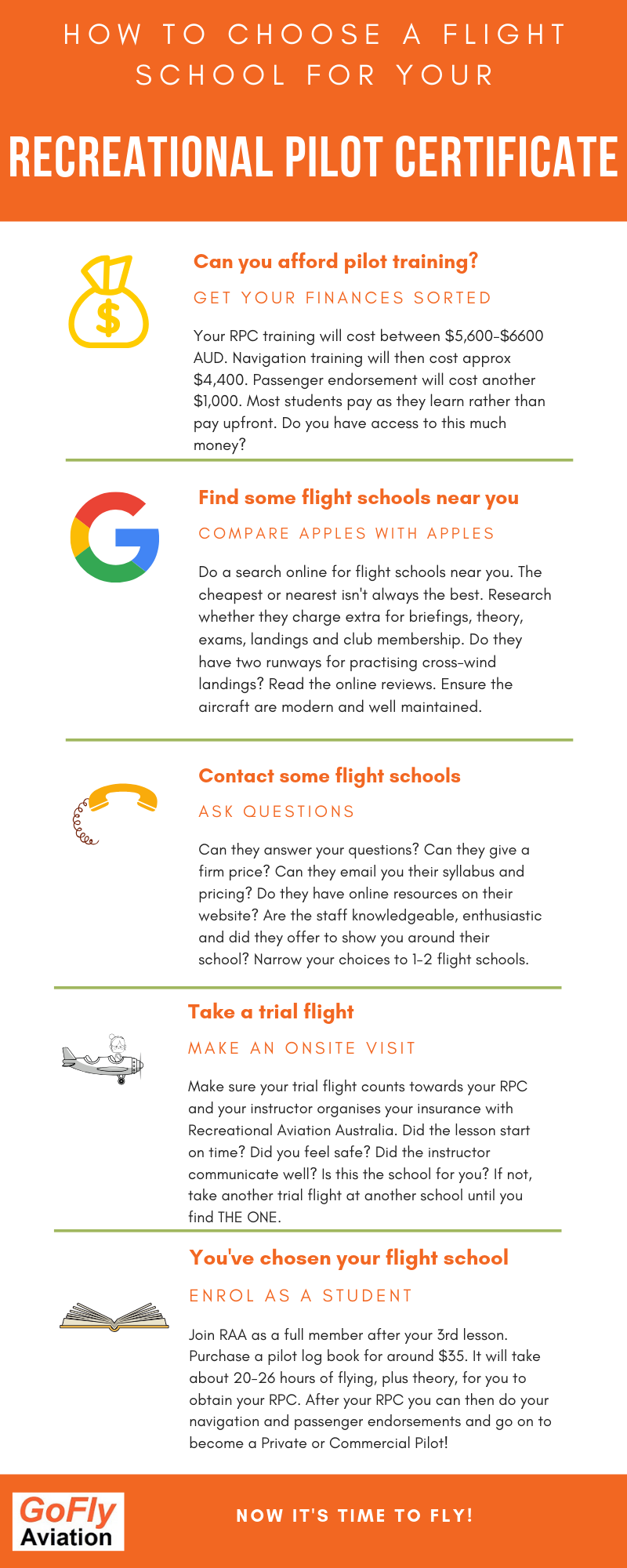 How do i choose a flight school