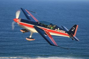 Extra 300 aerobatics plane