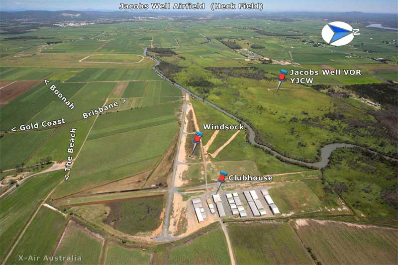 Heck Field airstrip