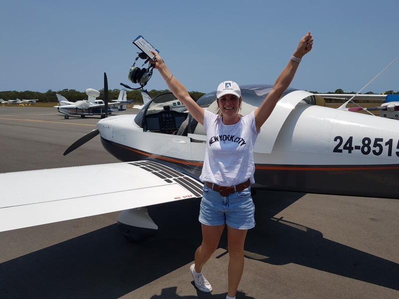 Erryn passes flight test